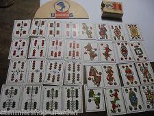 27063 Kinder Spielkarten Monopol Rimatti kpl + Kartenhalter Union Playing cards