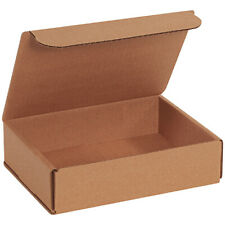 8 X 6 X 2 Kraft Corrugated Mailingshipping Boxes Ect 32b 100 Pieces