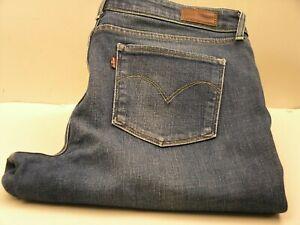 LEVI-039-S-STRAUSS-amp-CO-Men-Jeans-034-DEMI-CURVE-034-Denim-Distressed-Mid-Rise-Straigth-W32