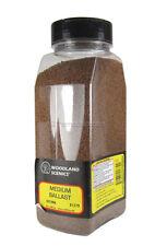 B1379 Woodland Scenics Brown Medium Ballast Shaker 57.7 in³ (945 cm³) TMC
