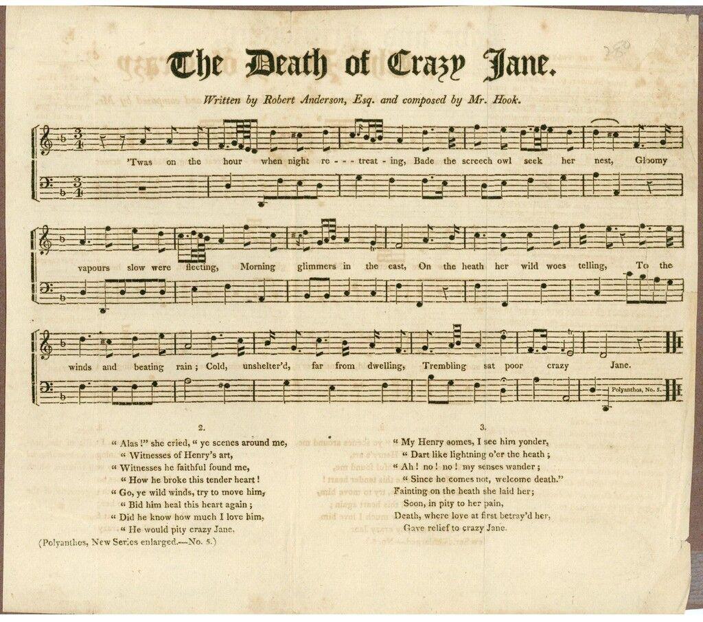 American Sheet Music, 1813,