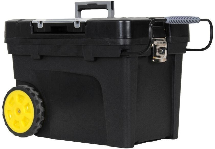 Tool Box Portable Rolling Wheel Storage Case Chest Carrier Garage Construction