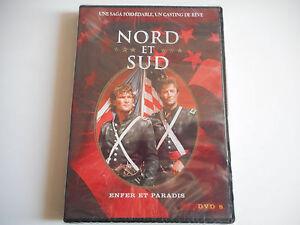 DVD-NEUF-NORD-ET-SUD-DVD-8-ENFER-ET-PARADIS-ZONE-2