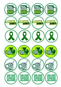 24 Edible Cake Toppers Decorations Macmillan Cancer