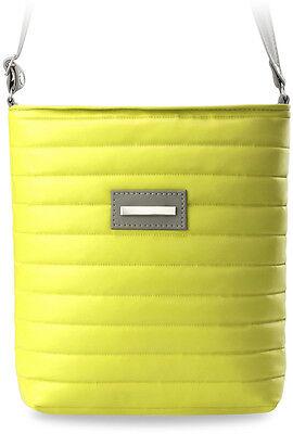 Gesteppte Damen-Tasche Messengertasche Pastell-Farben 9 Farben Neu max. 137cm