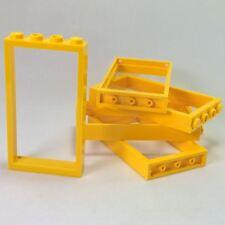lego 60596-4x Cadre porte Rouge 40289 Neuf Door frame 1x4x6 Red