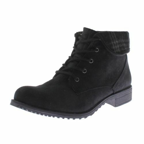 325563423d71b Cliffs White Mountain Neponset Lace up BOOTIES Black Multi Distressed 10