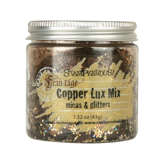Stampendous Micas & Glitters Lux Mix 1.27oz - Copper