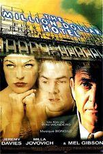 Affiche 120x160cm THE MILLION DOLLAR HOTEL (2000) Wim Wenders - Mel Gibson TBE