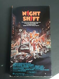 Night-Shift-VHS-1982-The-Ladd-Company-Comedy-X-Rated-Ideas-City-Morgue