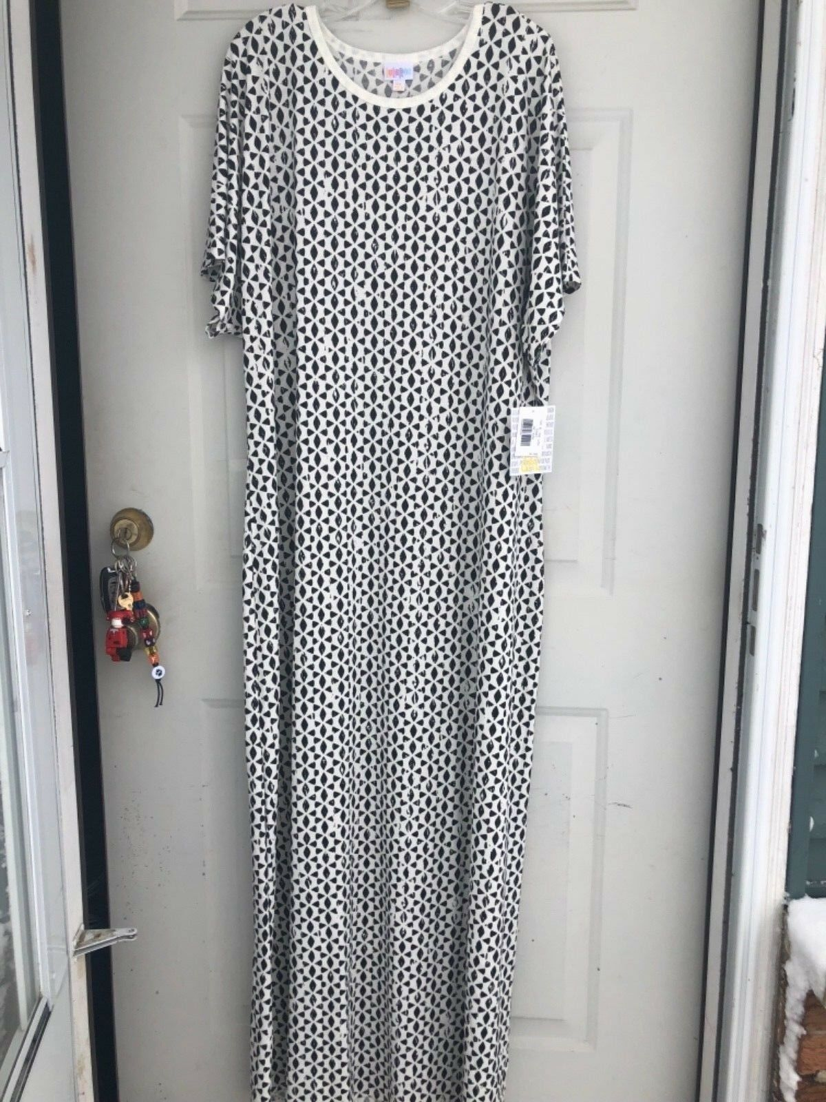 LULAROE LADIES FULL LENGTH DRESS  MARIA  SIZE 3X NEW WITH TAGS BUY TODAY