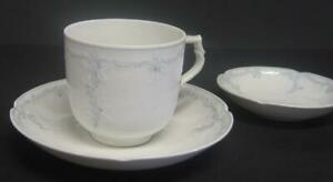 Vintage-Kaiser-034-Midinette-034-Cup-w-Saucer-and-Fruit-Dessert-Sauce-Bowl-Germany