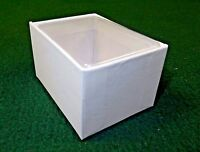 White Cardboard 3x2 Box W/clear Acetate Tuck Lid Lot Of 36, Jewelry, Candies