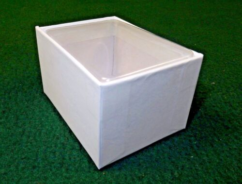 """White Gift Box 3/""""x2/"""" Box w//Clear Acetate Tuck Lid ~ Lot of 12 Candies Jewelry"""