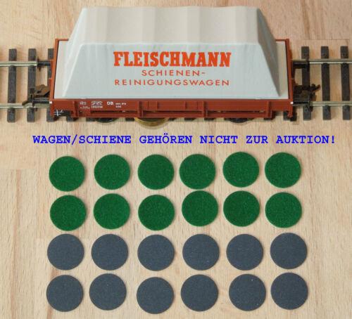 finement FLEISCHMANN HO 5568 rails Nettoyant 12+12 Nettoyage Vitres velours