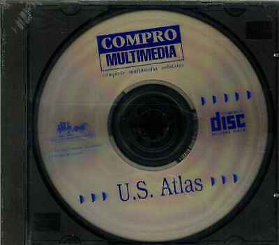Compro Multimedia, Atlante Degli Stati Uniti, Nuovo- Bianchezza Pura