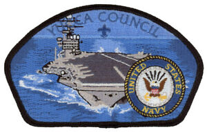 Yucca-Council-Military-Navy-Gila-Lodge-378-OA-Uniform-CSP-Patch-Badge-BSA-Award