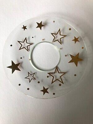 Gräser bedruckt Neuware wunderschönes Porzellan Windlicht Teelicht Motiv