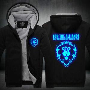 World-of-Warcraft-Hoodie-Sweatshirt-Zipper-Sweater-Coat-Jacket-Luminous-Edition