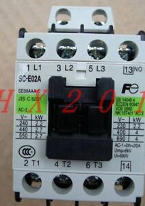 New In Box FUJI Magnetic Contactor SC-N2S 220VAC 1-Year Warranty !