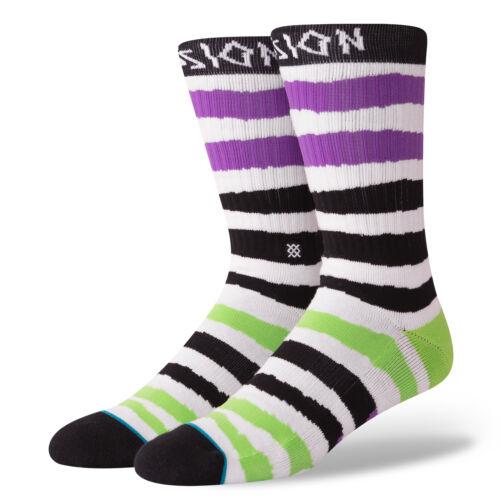 STANCE NEW Mens Lizard King Passion LK Socks Black BNWT