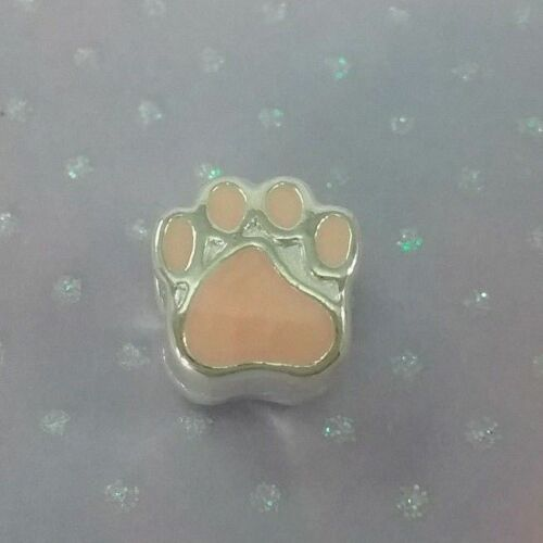 ❤ Paw Print Style Charms ❤ FOR CHARM BRACELETS ❤ COMBINED P /& P ❤
