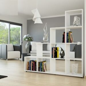 Libreria scaffale cubo divisorio parete moderno studio for Libreria salotto