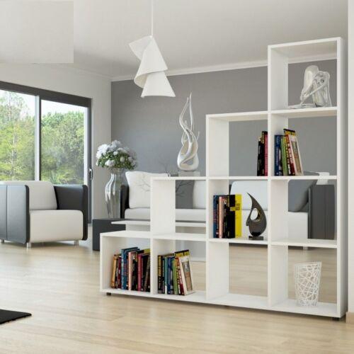 libreria scaffale cubo divisorio parete moderno studio