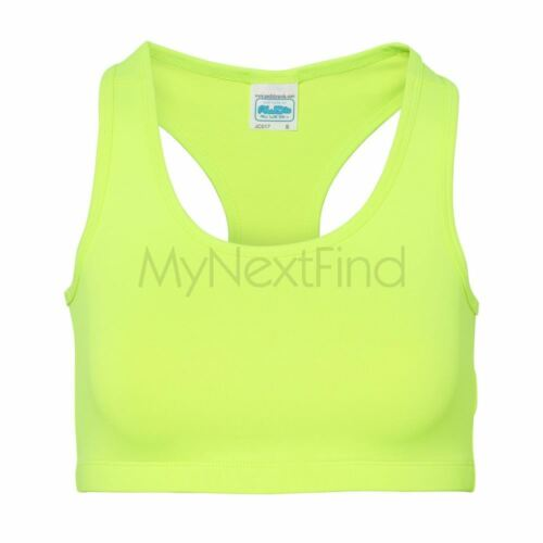 AWDis Just Cool Womens Girlie Sports Gym Cool Crop Top