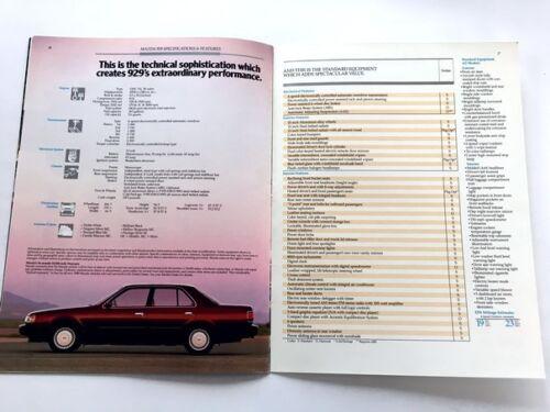 1989 Mazda 929 16-page Original Car Sales Brochure Catalog