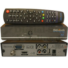 ►Medialink Black Panther Smart Home FTA FullHD SAT Receiver USB HDTV IPTV ML1100