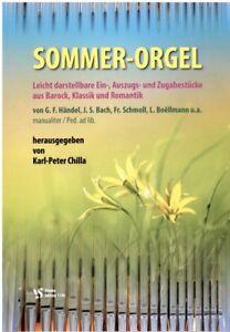 Kirchenorgel-Noten-Sommer-Orgel-leichte-Mittelstufe-manualiter