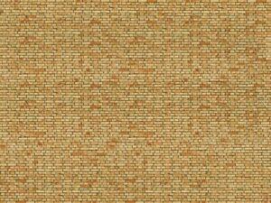 H0-1-87-Noch-56613-3D-lamina-Brick-Cardboard-Sheet-Clinker-250x125mm