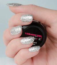 Gel UV & LED Ongles - pailleté argent  - Peggy Sage - Soins des ongles 146860