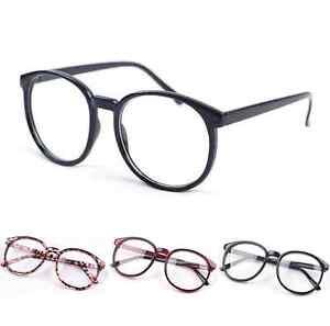 Unisex-Fashion-Clear-Round-Lens-Eyeglasses-Frame-Retro-Men-Women-Nerd-Glasses