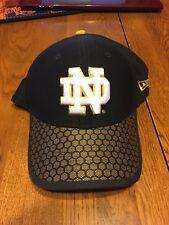 8cecf9295a4 2018 Notre Dame Fighting Irish New Era 39THIRTY Flex Hat - Navy Size S M