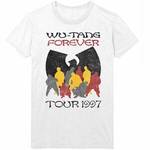 Wu-Tang-Clan-039-Wu-Tang-Forever-Tour-039-97-039-T-Shirt-Official-Wu-Tang-Merchandise