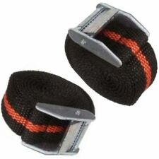2 Pack Nylon Cam Tie Down Strap CARGO Luggage Belt Metal Buckle 25mmX2.5Metres