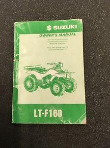 1997 2001 suzuki lt f160 owners manual 99011 02c67 03a ebay rh ebay com suzuki lt-f160 service manual pdf Suzuki LT 125