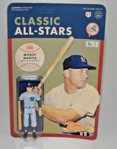 Mickey Mantle Super7 Classic All-Stars New York Yankees ReAction Action Figure