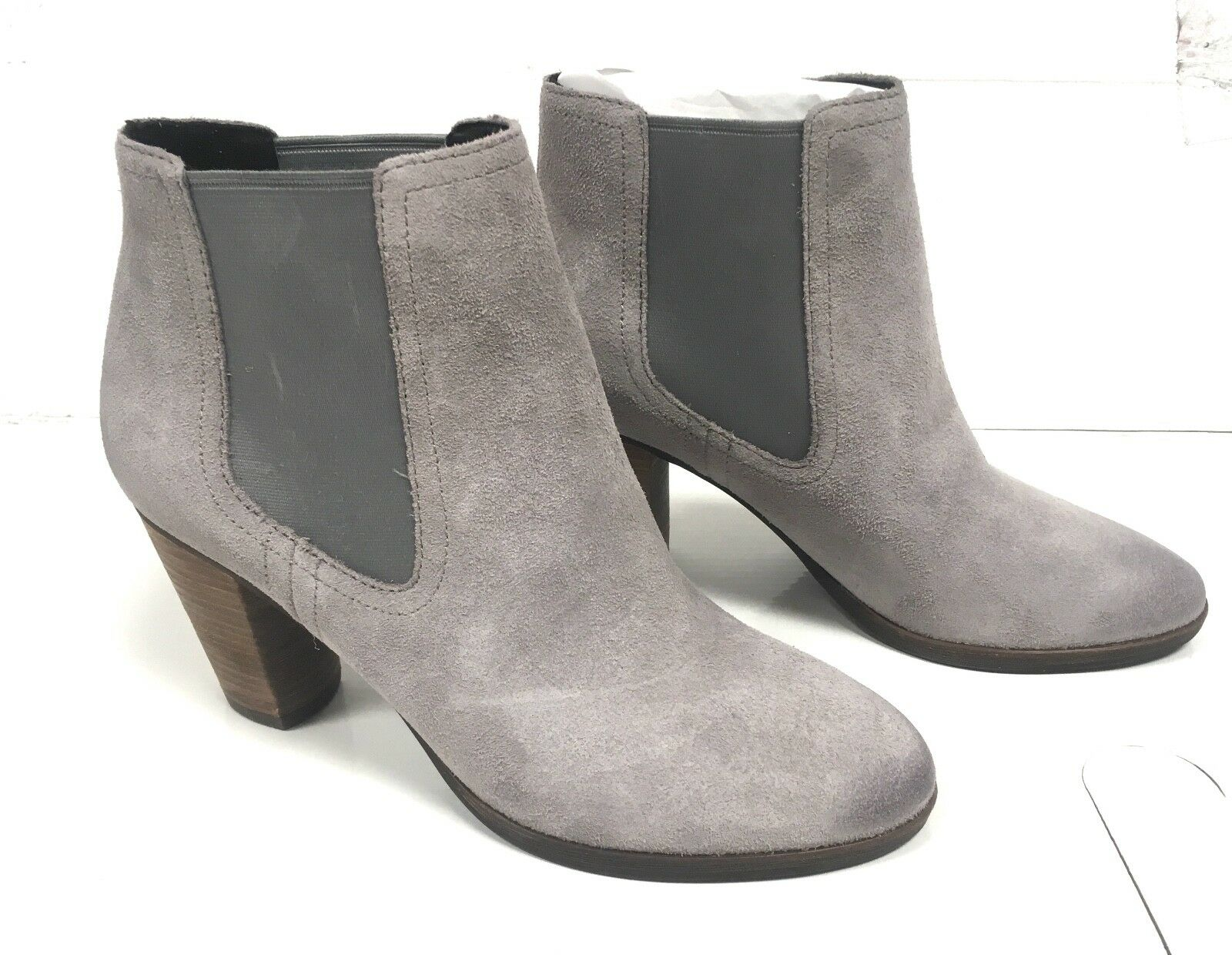 Cole Haan Women's Hayes Gore Ankle Bootie   Ironside Suede   Size  6.5