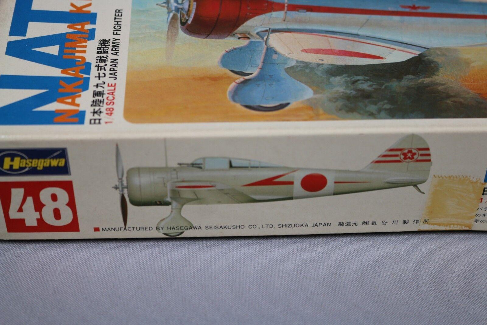 Zf082 Hasegawa 1 48 Modell Modell Modell Flugzeug 48 U001   700 Nate Nakajima Ki27 Japan Edl 4122be
