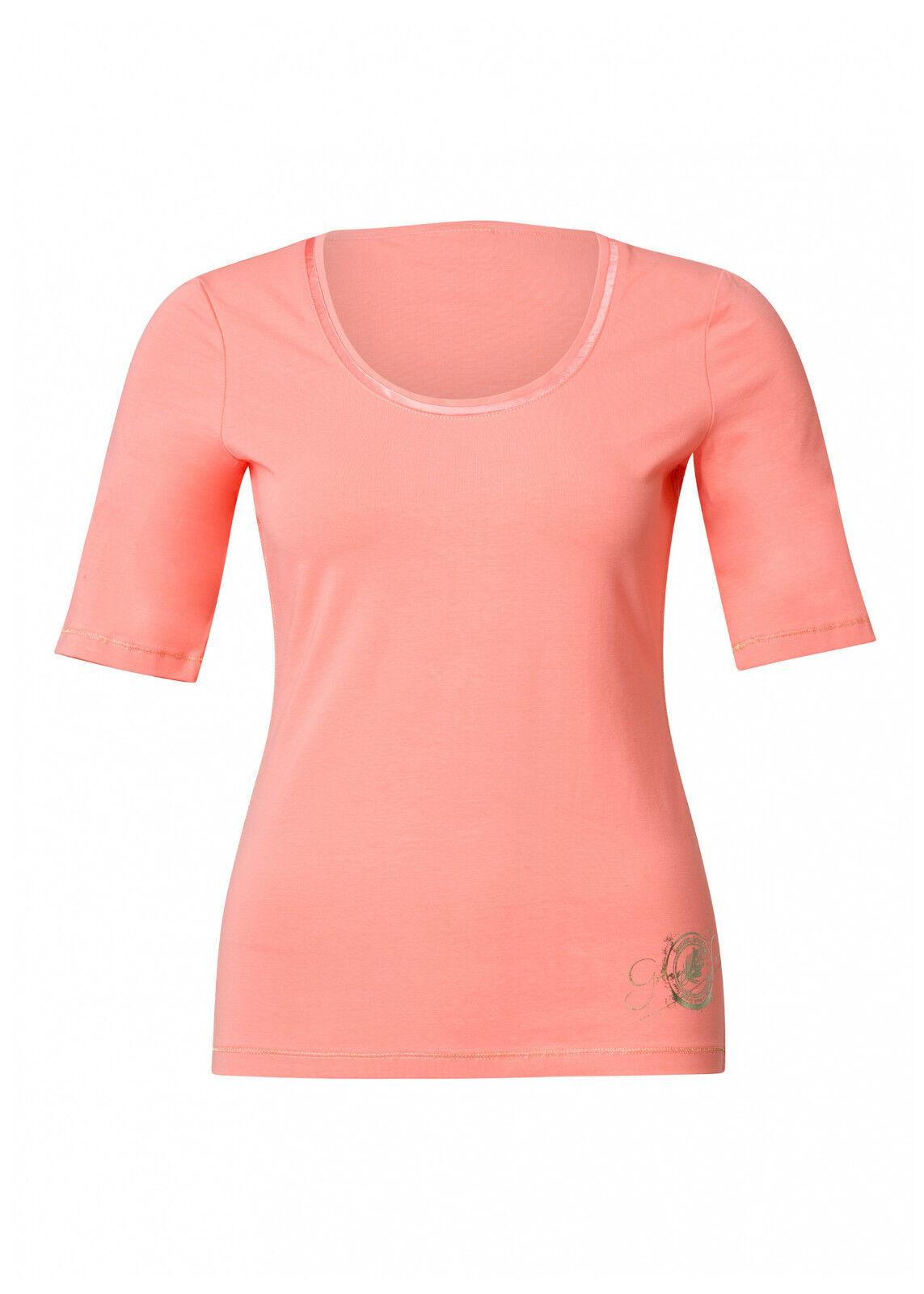 Shirt  Federica , Sportalm, Farbe  lachs, Gr. 36