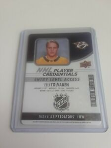 2018-19-MVP-Eeli-Tolvanen-NHL-Player-Credentials-Rookie-Level-Access-Rc-L-K
