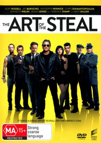 The Art of The Steal DVD - FREE POST