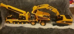 3-large-CONSTRUCTION-TRUCKS-diggers-2x-CAT-1-remote-controlled