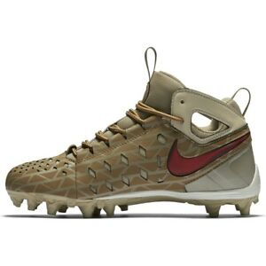 71719519b0959 youth/boys nike 4.5 huarache v/5 mid lax/lacrosse cleats gs 813058 ...