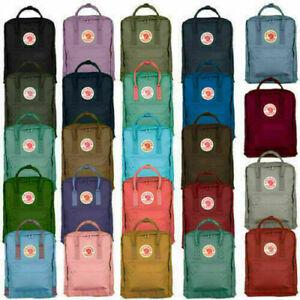 Zaino Marca Fjallraven Kanken viaggio spalla scuola Unisex Backpack 7L /16L/ 20L