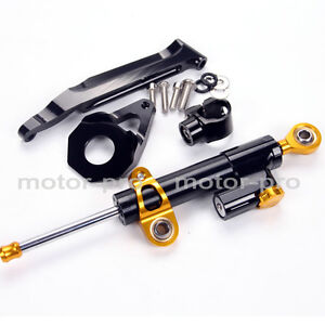 Details About Full Steering Damper Stablizer W Mounting Bracket For Honda Cbr600rr 2005 2006