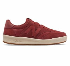 New-Balance-Womens-Casual-Tennis-WRT300WB-Red-Suede